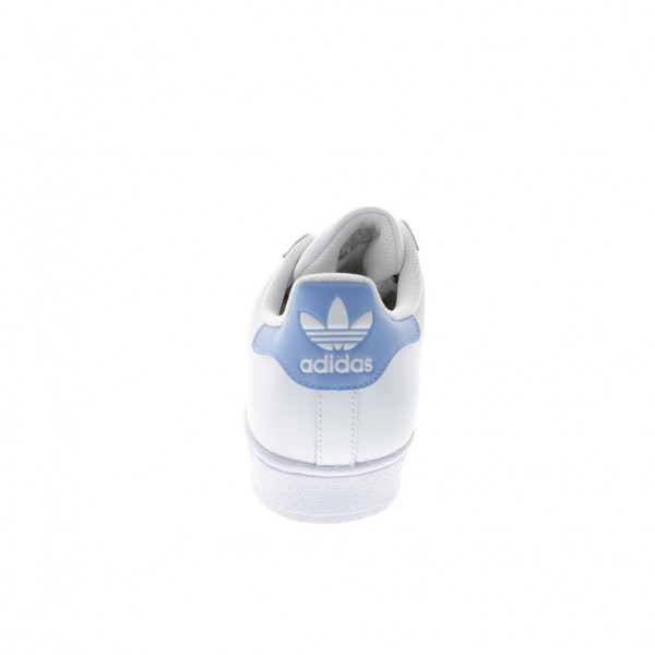 Adidas Men Superstar White Light Blue Shoes BY3716
