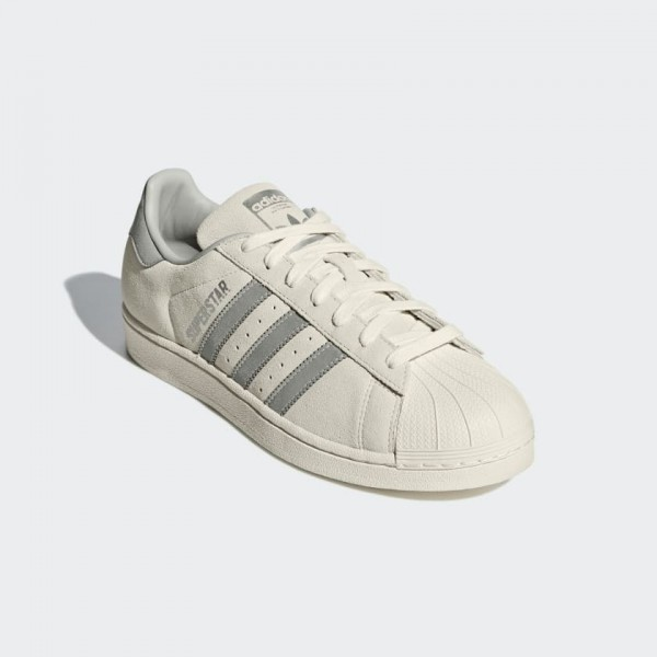 Adidas Men Originals Superstar White Silver Shoes B41989