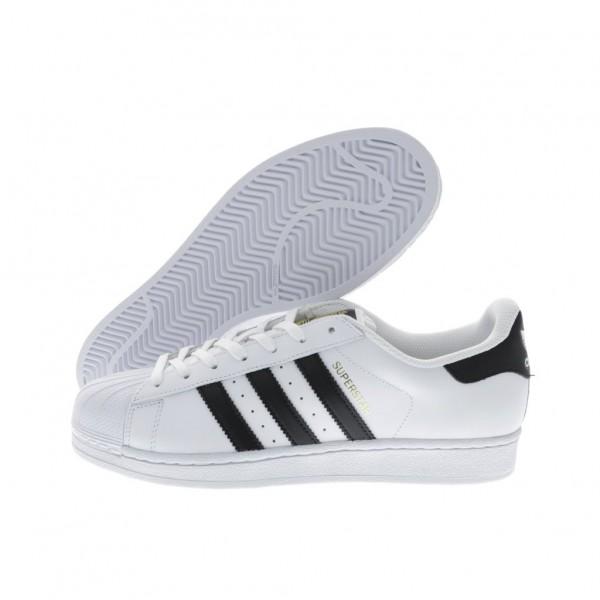 Adidas Men Originals Superstar White Black Shoes C77124