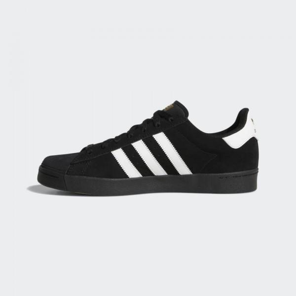 Adidas Men Originals Superstar Vulc ADV Black/Whit...