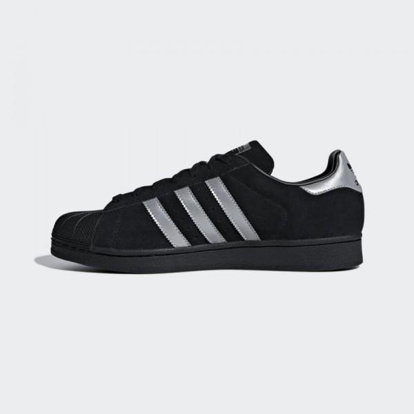 Adidas Men Originals Superstar Core Black Sneakers...