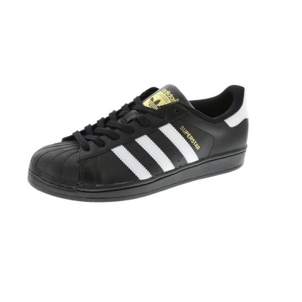 Adidas Men Originals Superstar Black White Shoes B...