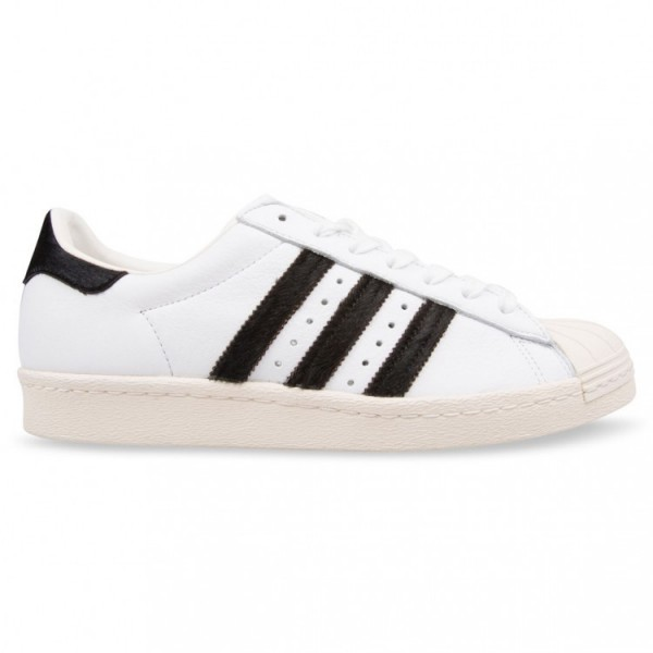 Adidas Men Originals Superstar 80s White Shoes BB2...