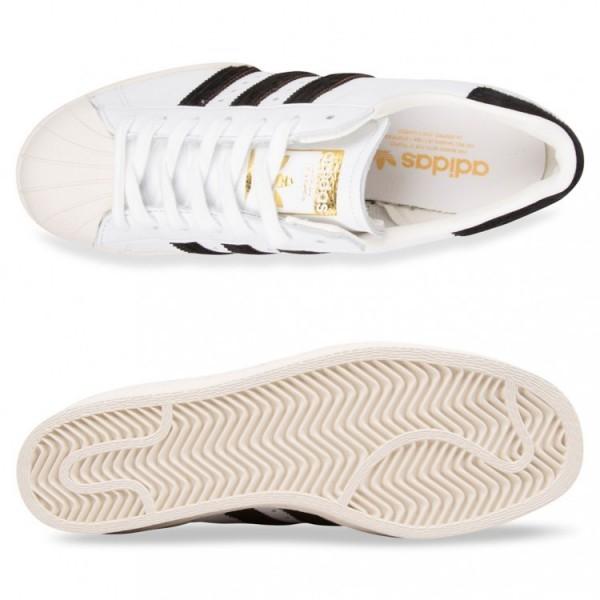 Adidas Men Originals Superstar 80s White Shoes BB2231