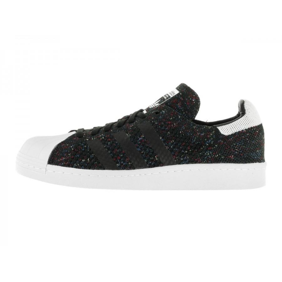 Adidas Originals Superstar 80'S Primeknit Black White