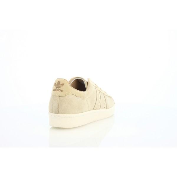 Adidas Men Originals Superstar 80s Beige Khaki Shoes BB2227